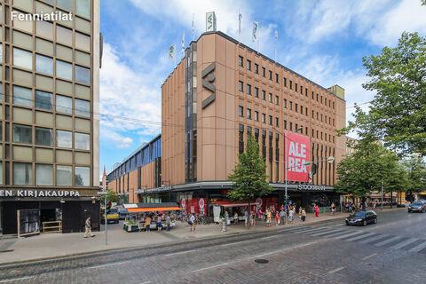 Toimitilat Tampere   Tampereen Hämeenkatu 4   ulkokuva 1