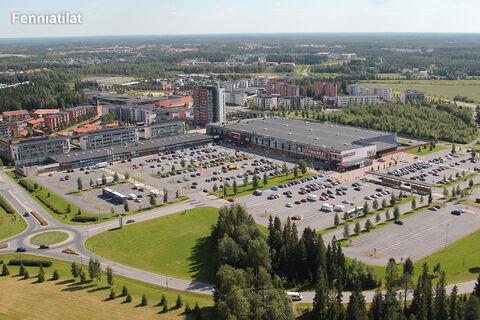 Toimitilat Oulu   Kaakkurin Liikekeskus   Metsokankaantie 3   ilmakuva 1
