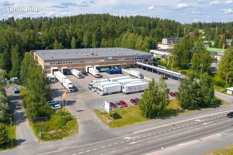 toimitilat Jyväskylä | Vasarakatu 13 | ilmakuva