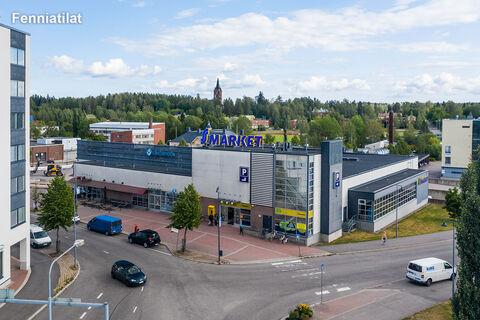 Toimitilat Mäntsälä | Keskuskatu 1 | ilmakuva