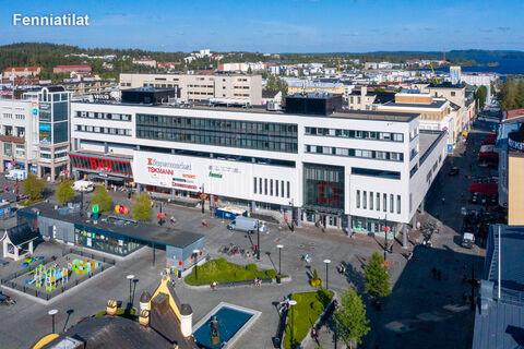 Toimitilat, Kuopio | Kauppakatu 41, Kauppakeskus Vihtori | Ilmakuva