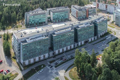 Toimitilat Espo | Quartetto Business Park Basso, Linnoitustie 2a | ulkokuva 1