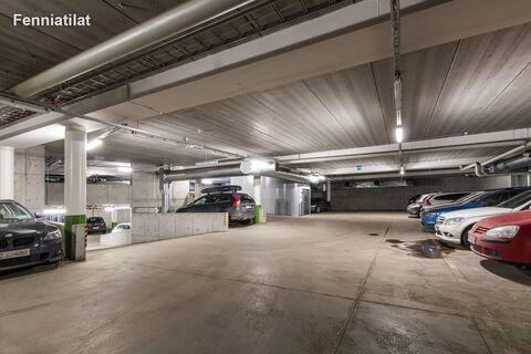 Toimitilat Helsinki   Nuijamiestentie 12   parkkihalli