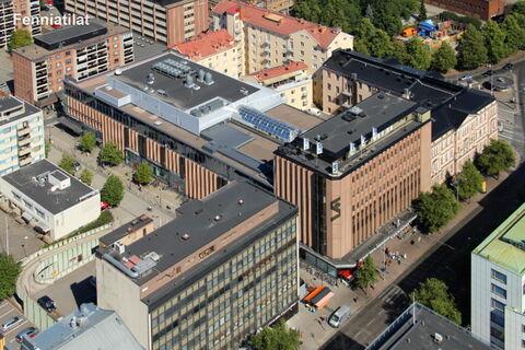 Toimitilat Tampere | Tampereen Hämeenkatu 4 | ulkokuva 2