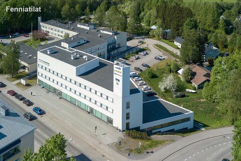 Toimitilat Lohja | Lohjan Yrittäjätalo | Nummentie 12-14 | ilmakuva 1