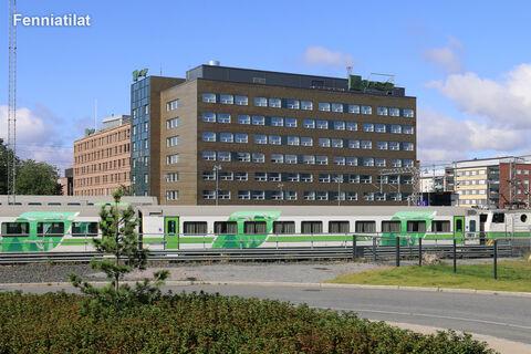 Toimitilat Tampere   Tampereen Rautatienkatu 23   ulkokuva 1