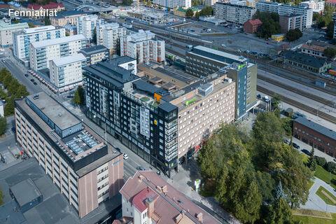 Toimitilat Tampere   Tampereen Rautatienkatu 23   ulkokuva 2