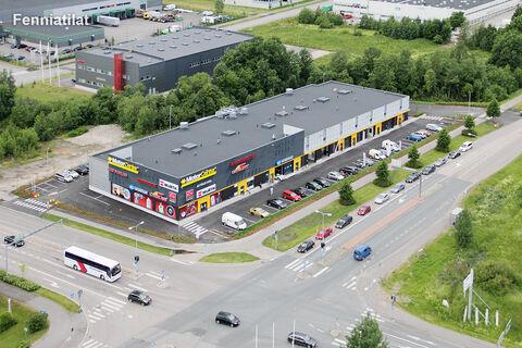 Toimitilat, Vantaa   Tikkurilantie 98, Vantaan Avia, Motor Center   julkisivukuva 1