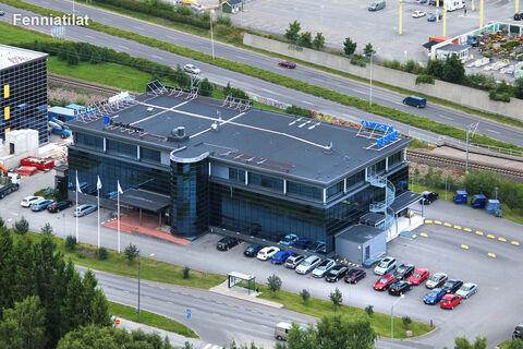 Toimitilat Turku | Lemminkäisenkatu 50, Turku High Tech Centre 2 | ilmakuva1