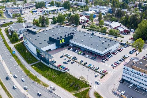 Toimitilat Espoo | Suomalaistentie 5, Suomalaistentien Liikekeskus | ilmakuva
