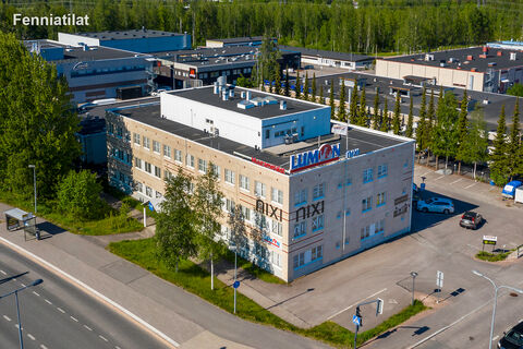 Toimitilat Espoo | Finnoon Portti | ilmakuva 1