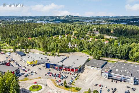 Toimitilat, Jyväskylä | Vasarakatu 25 | ilmakuva