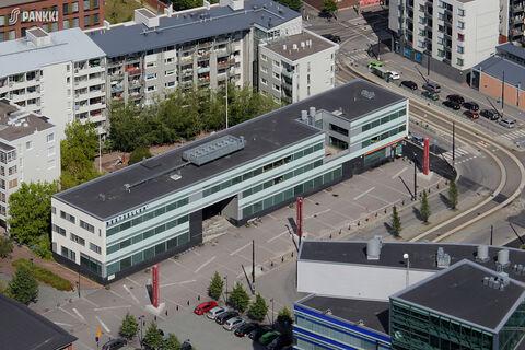 Toimitilat Helsinki   HTC Helsinki – Kon-Tiki   Kaapeliaukio 1   ilmakuva