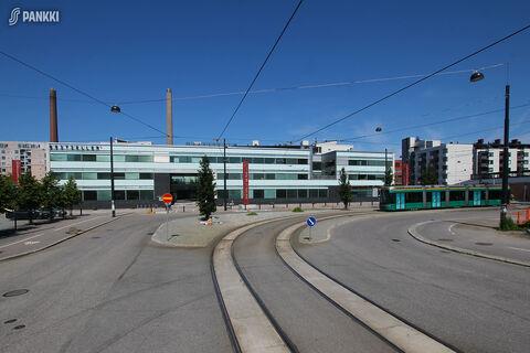 Toimitilat Helsinki   HTC Helsinki – Kon-Tiki   Kaapeliaukio 1   julkisivukuva