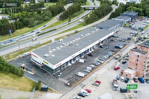 Toimitilat, Helsinki   Isonpellontie 7, Motorcenter Oulunkyla   ilmakuva
