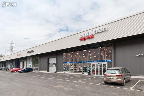 Toimitilat, Helsinki   Isonpellontie 7, Motorcenter Oulunkyla   julkisivukuva1