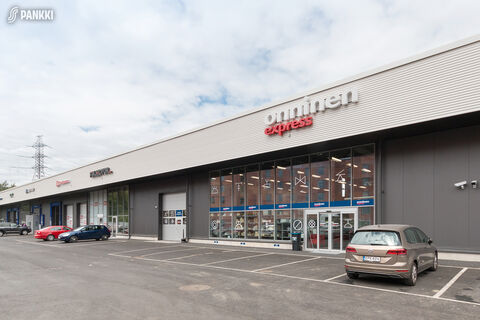 Toimitilat, Helsinki | Isonpellontie 7, Motorcenter Oulunkyla | julkisivukuva1