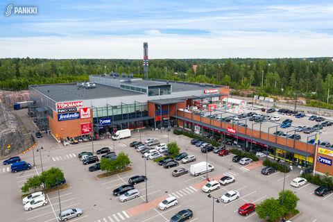 Toimitilat, Vantaa   Porttisuontie 4, Porttipuiston Liikekeskus   ulkokuva1