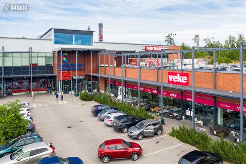 Toimitilat, Vantaa   Porttisuontie 4, Porttipuiston Liikekeskus   ulkokuva2