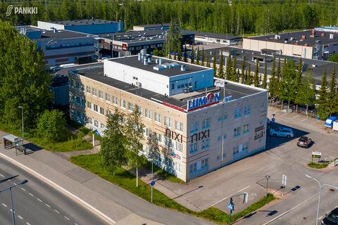 Toimitilat Espoo   Finnoon Portti   ilmakuva 1
