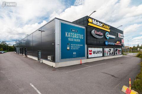 Toimitilat, Vantaa   Motor Center Koivuhaka, Tikkurilantie 98   ulkokuva5