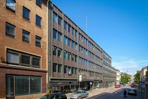 toimitilat Helsinki | Fabianinkatu 8 | julkisivukuva