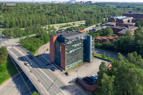 Toimitilat Helsinki | Nuijamiestentie 12 | ilmakuva 1