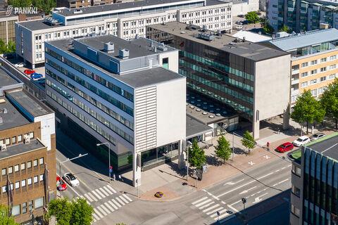 Toimitilat Lahti | Aleksanterinkatu 24 | ilmakuva