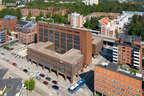 Toimitilat Helsinki | Hopeatie 2 | ilmakuva