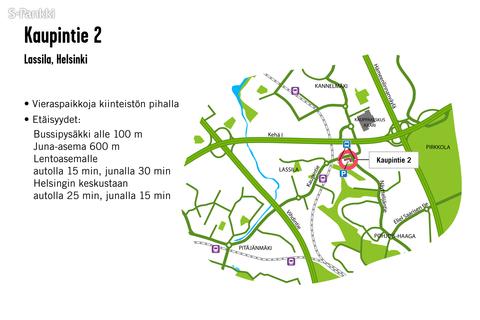 Toimitilat Helsinki   Kaupintie 2   kartta