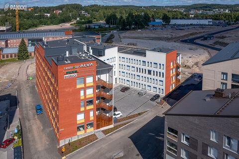 Toimitilat Jyväskylä | Paperitehtaankatu 9, Optimes Business Garden | ilmakuva 1