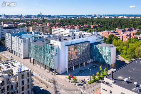 Toimitilat Helsinki | Kyllikinportti 2 | ilmakuva